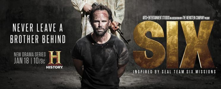 'Six' Art Shows Walton Goggins in Need of Rescuing