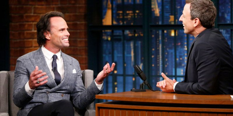 Walton Visits Late Night with Seth Meyers (Captures, Stills + Video)