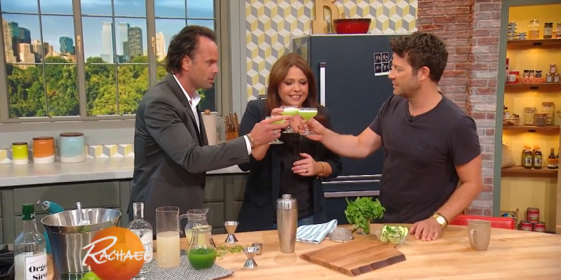 Video: Walton Drops by The Rachael Ray Show