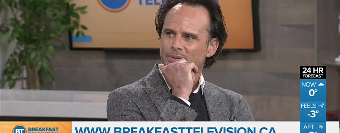 Video: Walton stops by Breakfast Television Toronto to Promote 'Tomb Raider'