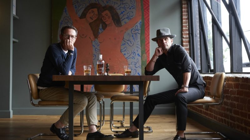 Actor Walton Goggins Wants You to Have a Drink and Sit a Spell